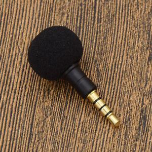 3-5mm-Mini-Nero-Stereo-microfono-per-Smartphone-Cellulare-Registrazione