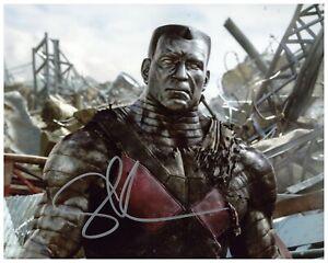 """Stefan Kapacic Autograph Signed 8x10 Photo - Deadpool """"Colossus"""" (Zobie COA)"""