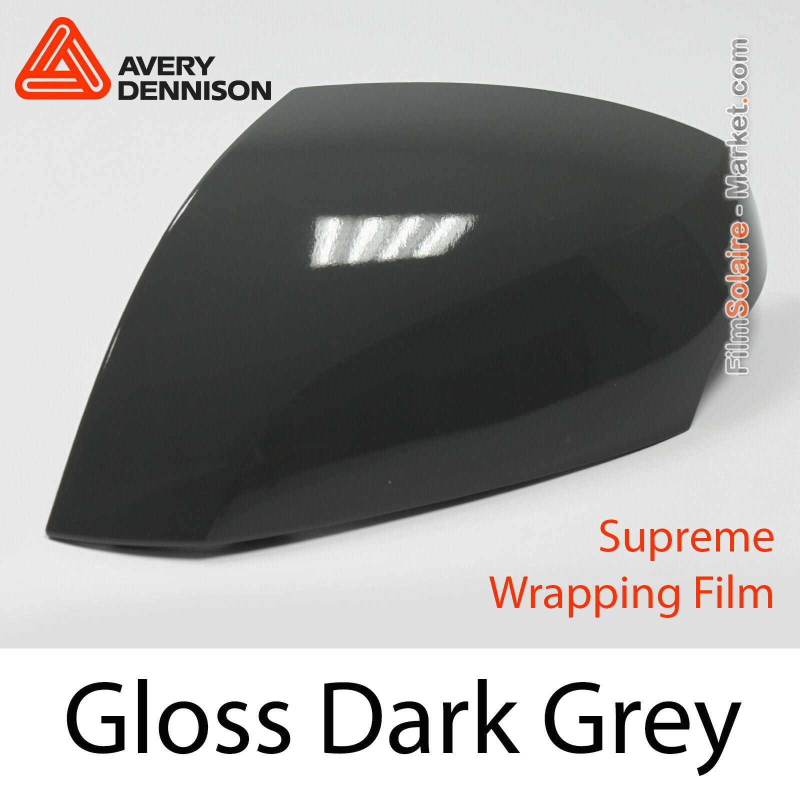 Gloss Dark grau - Avery Dennison Supreme Wrapping Film, Covering CB1560001