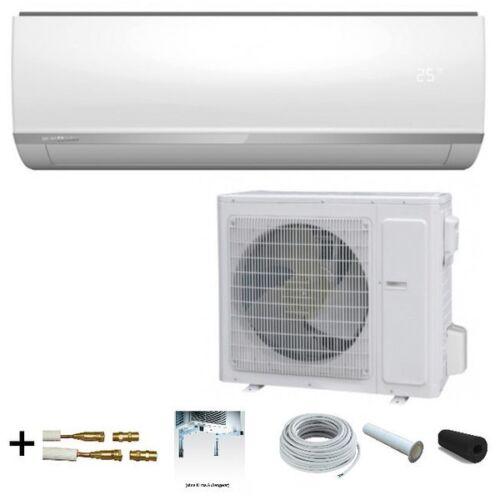"Climatisation mundoclima mupr 09 h6 Set 2,6 kW /""Ready to Install/"" Set 5 M Mur"