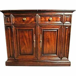 buy online 3ae58 3bdd3 Details about HENREDON BAR SIDEBOARD CABINET DRESSER VINTAGE ANTIQUE CHEST  CREDENZA BUFFET