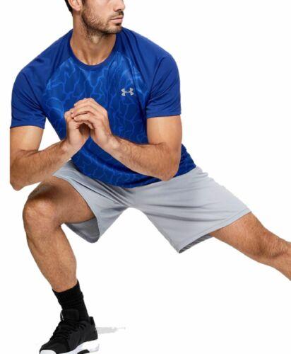 Under Armour Herren Fitness-Trainings-T-Shirt kurzarm UA Tech™ 2.0 Vibe blau