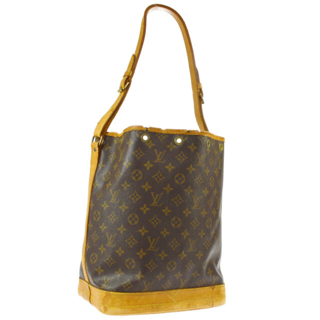 LOUIS VUITTON NOE DRAWSTRING SHOULDER BAG MONOGRAM M42224 AR0963 O02994