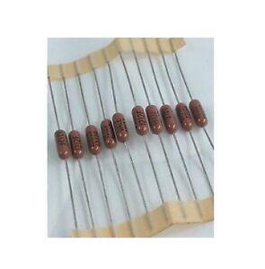 Dale-RN60-Metal-Film-Resistor-1-2W-1-100PCS-10-1M-ohm
