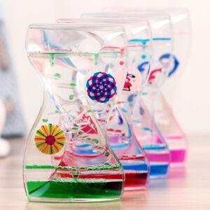 Floating-Mix-Illusion-Liquid-Motion-Visual-Slim-Oil-Hourglass-Timer-Plastic