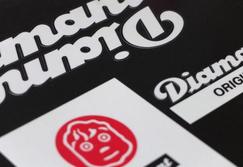 DIAMANT Decals Sticker Dekor 9-teilig Set 80er Jahre DDR Aufkleber Rennsport RS