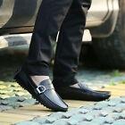 2015 Men's Cow Leather Shoes Casual Loafer No-slip Driving Moccasins Shoes