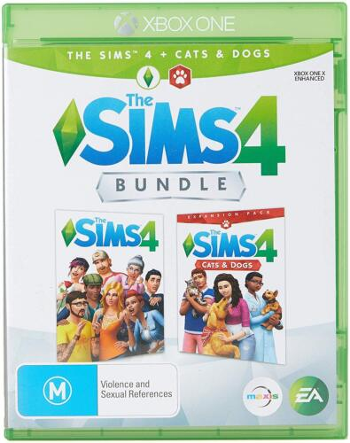 The Sims 4 + Cats & Dogs Bundle Virtual World Sim Game Microsoft XBOX One XB1