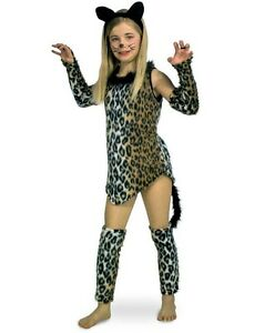 Katze-Wildkatze-Leopard-Kostuem-Karneval-Fasching-Kinder-Tierkostuem-Katzenkleid
