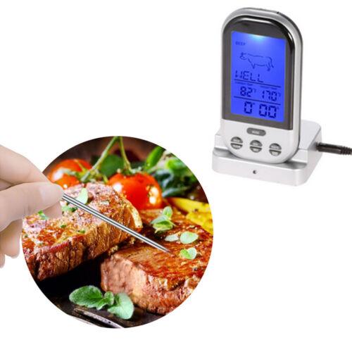 BBQ digitales Funk Lebensmittel Steak Kochen Grillthermometer Funkthermometer