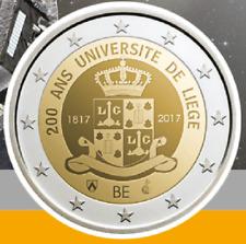 2 Euros Commémorative Belgique 2017 ''Université Liège'' BU