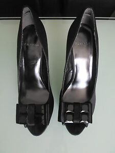 Peep Black Platform Shoes Size toe Women 6 Carvela Heels IqwF6BAfcx