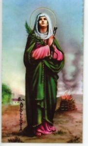 St-Apollonia-Relic-Laminated-Holy-Card-Blessed-by-Pope-Francis