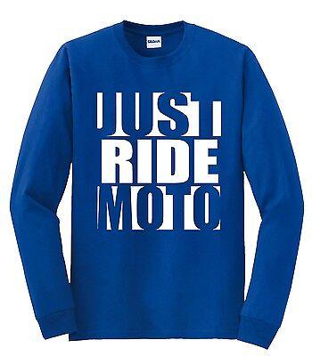 MOTO-X MOM T SHIRT JUST RIDE CAP SLEEVE RACE MX MOTOCROSS YZ CR KX KTM SX