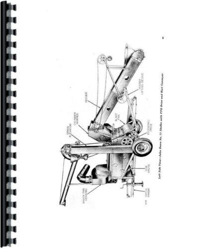 Operators Manual John Deere 71 Corn Sheller OMC381256