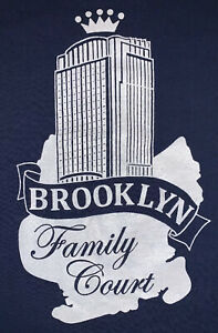 Nys-tribunales-oficial-del-tribunal-orden-fraternal-NYSC-T-shirt-Sz-L-Nuevo-NYPD-Brooklyn