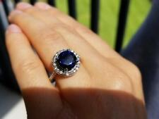 1/8 Ct Round Cut Natural Diamond 18k White Gold Infinity Engagement Ring