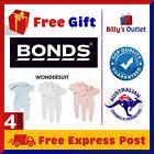 4 Pack Bonds Baby Wondersuit One piece Romper Jumpsuit Bodysuit Onesie Girl Boy