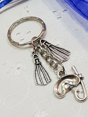 Scuba diving keyring fin flippers With Gift Bag