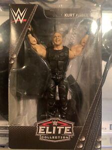WWE Mattel Shield Kurt Angle Ringside Exclusive Elite Series Figure