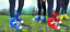 Festival Feet Chaussure manteaux bleu protection des Chaussures Avant de la boue U boue cover