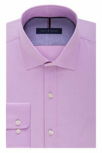 Choose SZ//color Tommy Hilfiger Men/'s Dress Shirts Non Iron Slim Fi