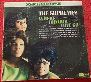 The Supremes Where Did Our Love Go LP 1964 Original Vinyl ...