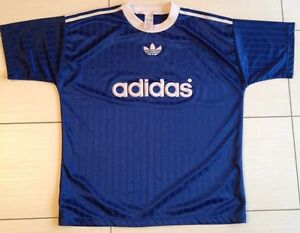 T-shirt Adidas Originals, Taglia L, Colore Blu, Made In England