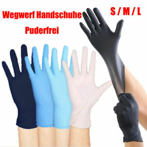 100PCS-Premium-Vinyl-Nitrile-Rubber-Cleaning-Disposable-Gloves-Powder-Free-Latex
