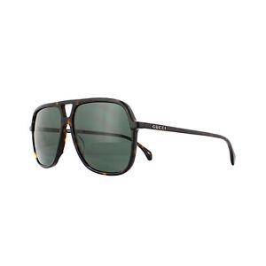 Gucci Lunettes de Soleil GG0545S 002 Havane Vert