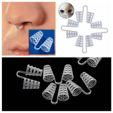 New Anti Snore Nasal Dilators Silicone Apnea Aid Device Stop Snoring Nose Clip
