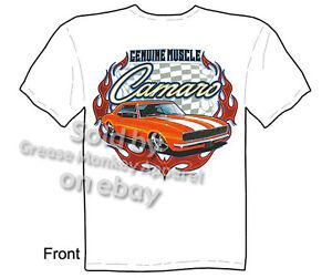 67-68-Camaro-TShirt-1967-1968-Chevy-Shirt-SS-Muscle-Car-Tee-Sz-M-L-XL-2XL-3XL