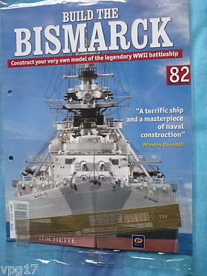 BUILD THE BISMARCK HACHETTE ISSUE 28  NEW SEALED