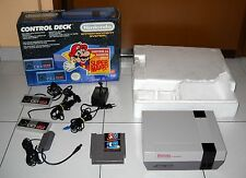 Console NINTENDO NES CONTROL DECK - PAL in Box Completo 1987 Edizione ITALIANA