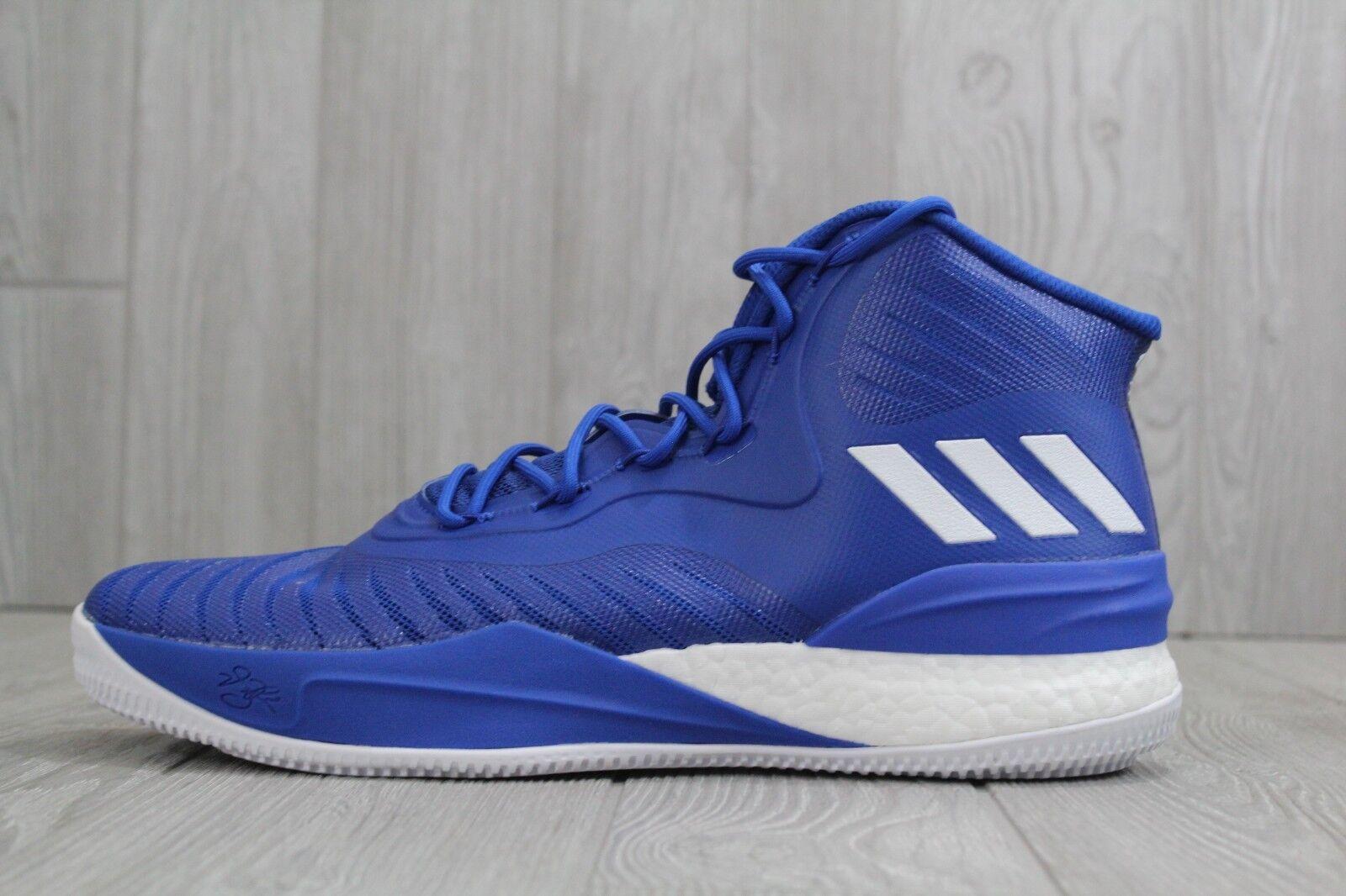 32 New Adidas Blue D Rose 8 Royal Blue Adidas Derrick Mens 13 Boost Basketball Shoes CQ1621 7a5d8c