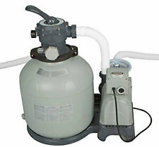 "Intex Krystal Clear 12"" Sand Filter Pump For Aboveground Swimming Pool 28645eg"