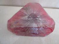 Soaprockettes Red Garnet Crimson Cranberry 4 Oz
