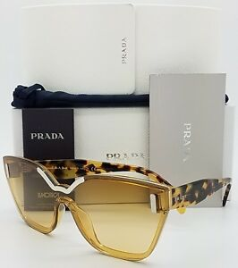 53481ee6230 Image is loading New-Prada-sunglasses-PR16TS-VIR1G0-Tortoise-Bronze-cat-