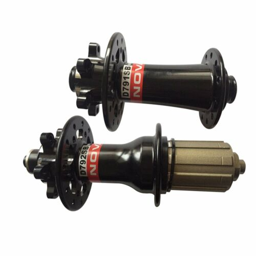 Black//Red Novatec D791SB D792SB MTB Mountain Bike Hub Upgrade of D771SB//D772SB