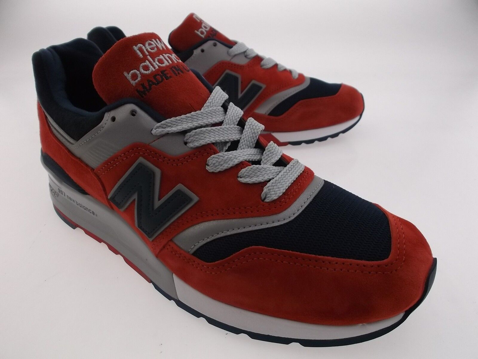 New Balance Men 997 Connoisseur Ski M997CSIY - Made In USA red navy silver M997C