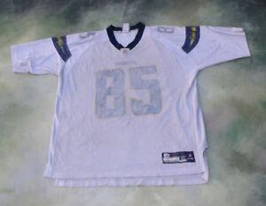 d176016ba32 Reebok NFL San Diego Chargers Antonio Gates #85 Jersey Size XL | eBay