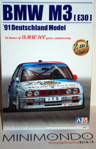 KIT BMW M3 E30 1991 DTM 1//24 AOSHIMA 09819 BEEMAX 24007 AOSHIMA