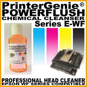 Print Head Cleaner For Epson WorkForce WF-2530WF WF2510WF- Nozzle Unblocker
