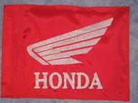 Custom Honda Flag For Atv Dirt Bike Utv Dune Safety Whip Pole