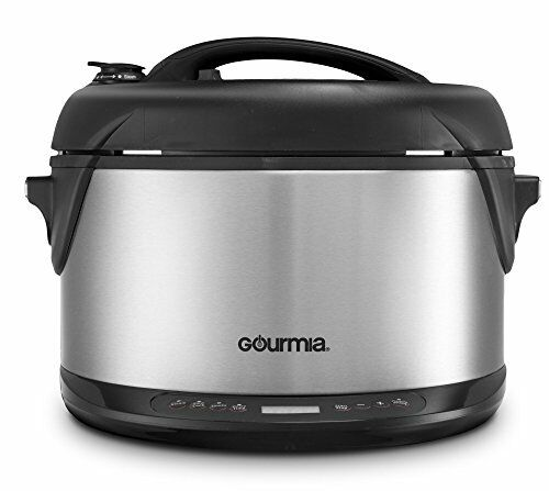 Gourmia GPS650 Multifunction 1 Hr Smoker, Pressure Cooker, Slow Cooker & Warmer