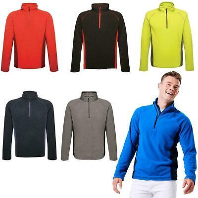 Regatta Womens Sweethart Half Zip Fleece Top Blue Sports Outdoors Breathable