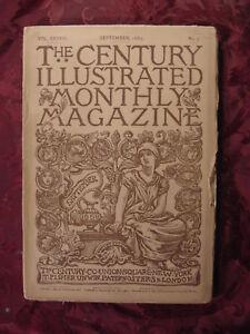 CENTURY-Magazine-September-1889-Masaccio-W-J-Stillman-Napoleon-Theodore-Wores