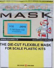 Eduard 1/32 jx016 Canopy maschera per il HASEGAWA fiesler fi156 STORCH KIT