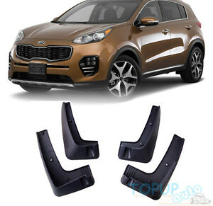 Image Is Loading Fit For 2016 2017 Kia Sportage Mudflaps Mud