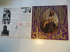 Adam & Eve - Paradise of Sounds - Orig. Gatefold Sleeve  Vinyl / Cover:very good